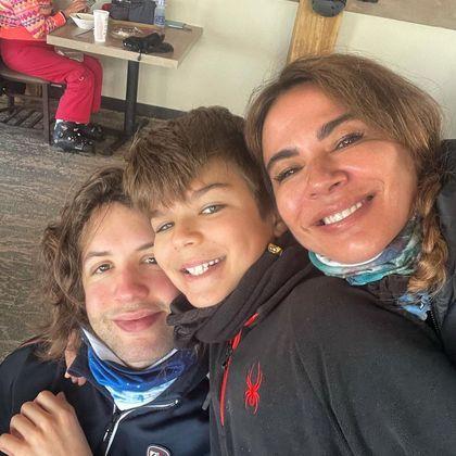 Lorenzo nasceu em fevereiro de 2011. Ele é o segundo filho de Luciana Gimenez, que já é mãe de Lucas Jagger, de seu relacionamento com o roqueiro inglês Mick Jagger