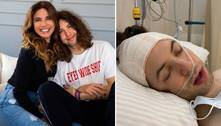 Luciana Gimenez fala sobre cirurgia de Lucas Jagger: 'Estou aliviada'