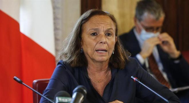 Lamorgese participava de reunião ministerial quando recebeu o resultado