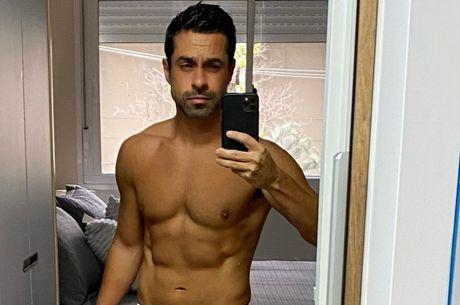 Luciano está com 41 anos e excelente forma física