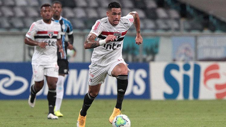 Luciano - atacante - Titular contra o Cobresal-CHI. Hoje defende o rival São Paulo.