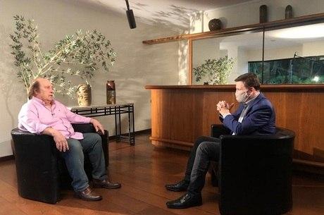 Luciano Callegari em entrevista a Roberto Cabrini