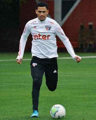 Luciano, estreante e autor do tento do empate contra o Bahia.