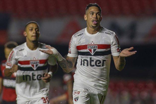 Luciano - o atacante de 28 anos tem valor estimado em 4 milhões de euros (cerca de R$ 24,6 milhões). Seu contrato com o São Paulo vai até dezembro de 2022.