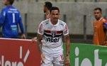 4- São Paulo - 61,9%14 jogos / 7 vitórias / 5 empates / 2 derrotas
