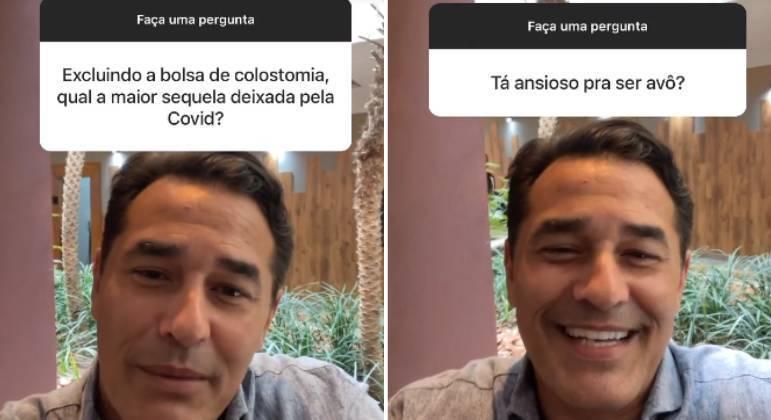 Luciano Szafir fala sobre sequelas da Covid e vontade de ser avô