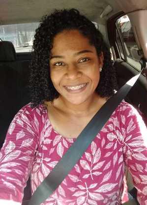 Luciene é motorista há 3 anos