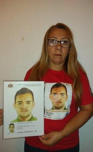 Lucineide, 51 anos, procura por Felipe