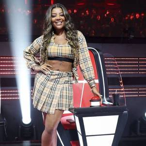 "Ludmilla no ""The Voice +"" da Globo"