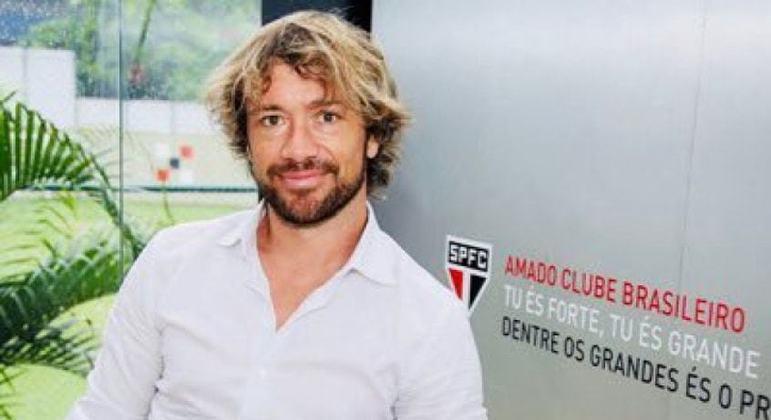 Lugano ficou três anos como dirigente do São Paulo