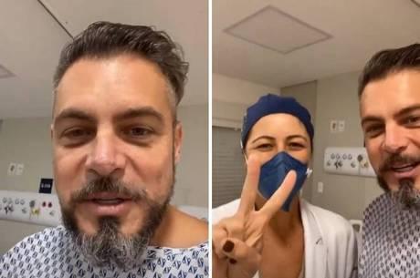 Luigi Baricelli passa por cirugia nesta quinta-feira