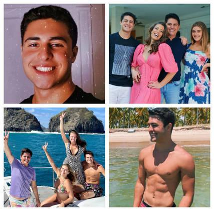 Luigi Cesar, filho caçula de Cesar Filho e Elaine Mickely, é discreto, mas toda vez que posta algum clique nas redes sociais,