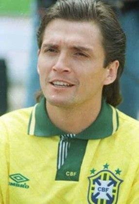 Luís Carlos Winck: cotado para disputar a Copa de 1990, ficou fora por opção de Lazaroni, apesar do seu extenso currículo com o Vasco e pela Seleção, onde ficou com a medalha de prata nas Olimpíadas de 88.