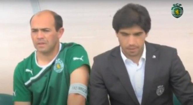 Luis Dias e Abel Ferreira