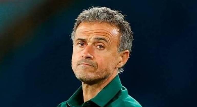 """Luís Enrique, o treinador da """"Fúria"""""""