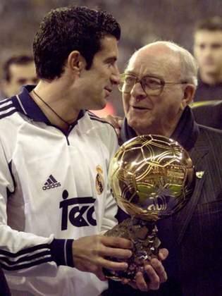 Luís Figo - Do Barcelona para o Real Madrid (2000) - Valor: €60 milhões - Indo diretamente de um rival para o outro, chegou à Madri com status de estrela e para ser o destaque da equipe