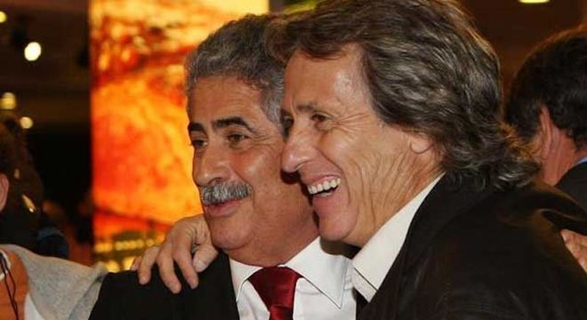 Jorge Jesus é amigo íntimo do presidente Vieira. Vão conversar sério no Rio