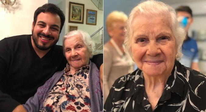 Avó de Luis Lobianco não resistiu após ser internada por conta da covid-19