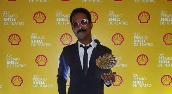 Luis Miranda, ganhador do troféu de melhor ator por 'O Mistério de Irma Vap', fez um apelo pela sobrevivência do campo
