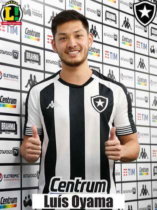 Luís Oyama - 7,5 - Acertou na troca de passes, foi bem na marcação e inverteu jogadas. Marcou o segundo gol do Botafogo.