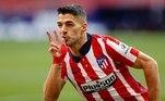 Luis Suárez, jogador do Atlético de Madri, é o 5º dessa lista, com 501 gols anotados na carreira. O atacante passou pelo Barcelona e registrou 112 gols em 195 partidas