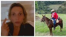 Luisa Mell critica Zé Neto por viagem de 1.000 km com burro