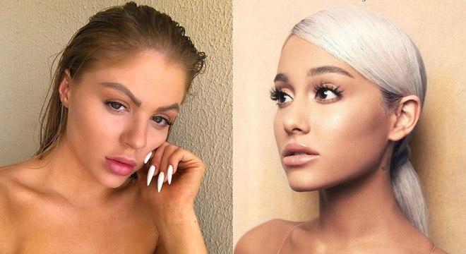 Para fãs, Luísa Sonza está com o estilo de trabalho de Ariana Grande