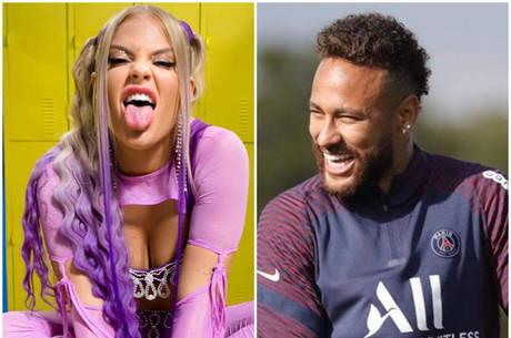 Luísa Sonza viraliza após Neymar escutar 'Toma' antes de jogo