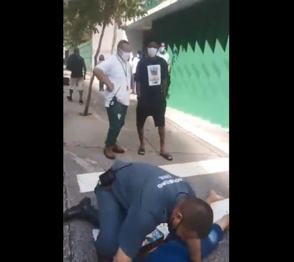 Luiz Adriano. Com covid, saiu pelas ruas, e atropelou um ciclista