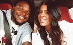 Luiz Adriano e Luma Simões apareceram juntos pela primeira vez nas redes sociais após o título do Palmeiras no Paulistão. O atacante fez o gol do Verdão no jogo e o novo amor não resistiu...