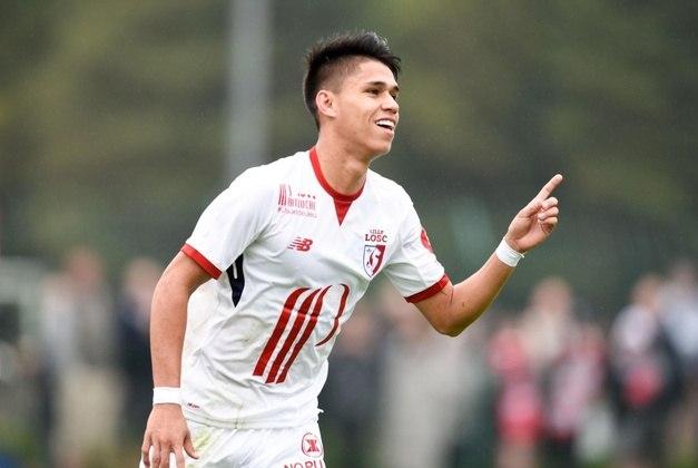 Luiz Araújo - Time: Lille (França) - Posição: Ponta-direita - Idade: 25 anos - Contrato até: 30/06/2022