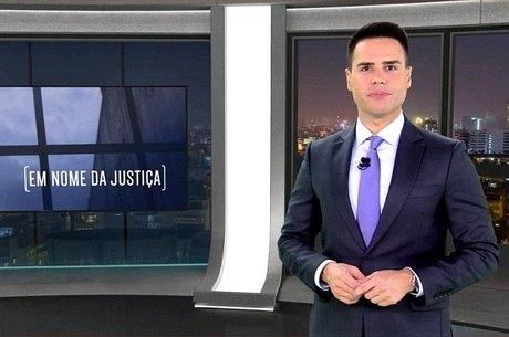 """Luiz Bacci na apresentação do """"Em Nome da Justiça"""""""