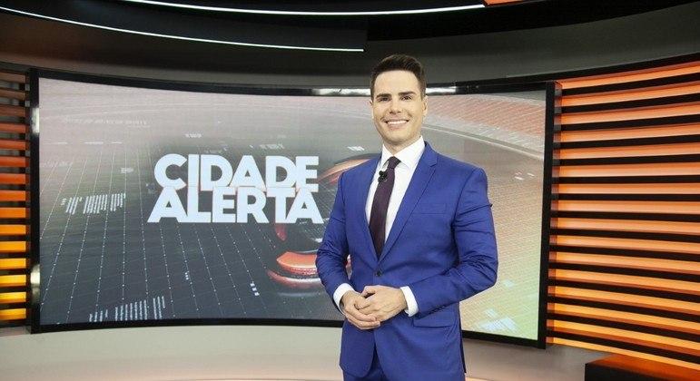 'Cidade Alerta' é comandado por Luiz Bacci