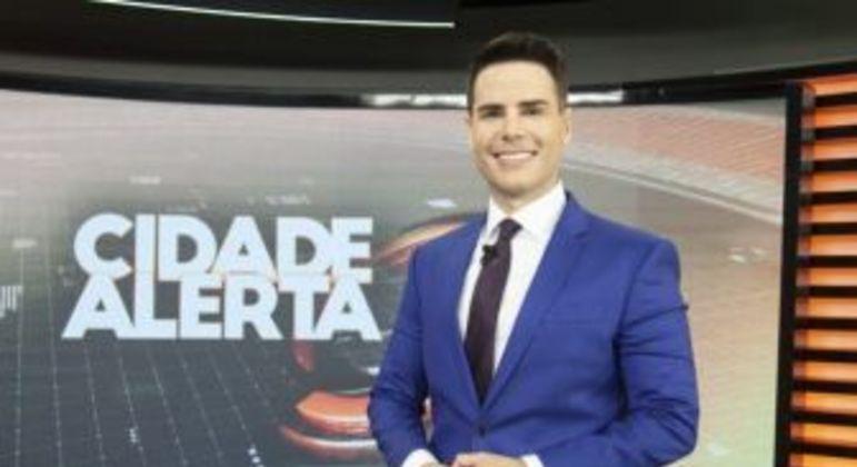 Luiz Bacci. Foto: Edu Moraes/Record TV