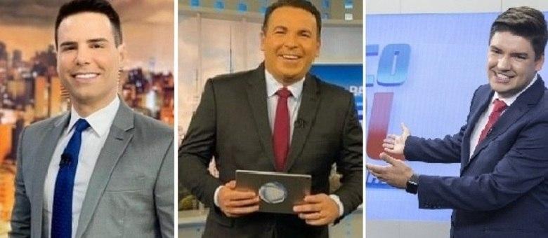 Luiz Bacci, Reinaldo Gottino e Bruno Peruka