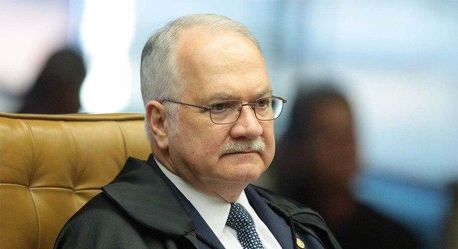 Ministro Edson Fachin, do STF, deu 72 horas para órgão se manifestar
