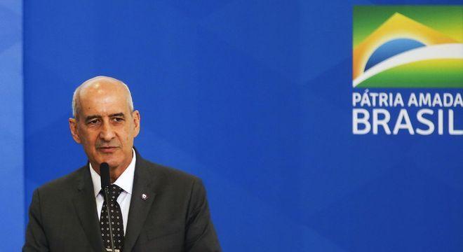Na imagem, ministro-chefe da Secretaria de Governo, general Luiz Eduardo Ramo