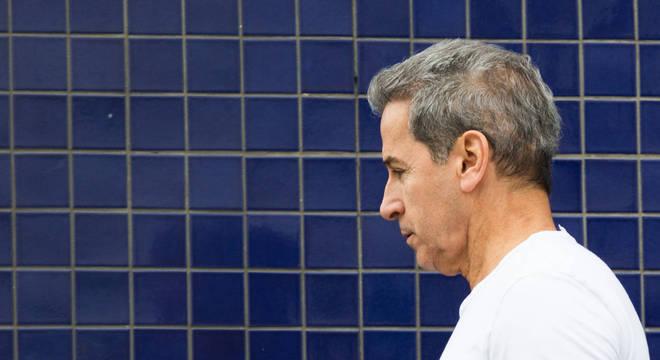 O ex-senador Luiz Estevão, que foi beneficiado por saída temporária da prisão