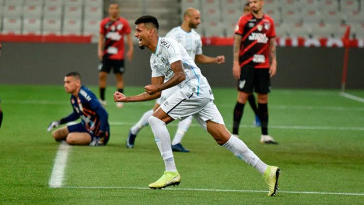 Luiz Fernando – O jogador do Botafogo foi emprestado ao Grêmio em agosto de 2020. Luiz Fernando teve uma sequência boa com Renato Gaúcho e conquistou seu espaço no Imortal. O empréstimo se encerra em fevereiro, mas ele tem contrato com o Alvinegro até o fim de 2021