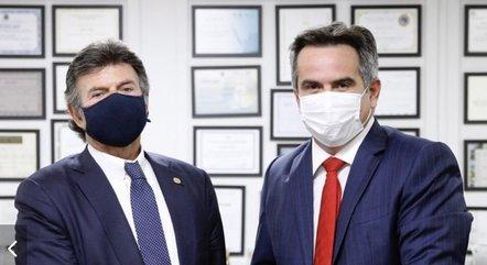Na imagem, Luiz Fux e Ciro Nogueira