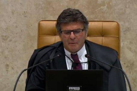 Luiz Fux, presidente do STF