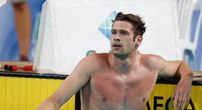Luiz Gustavo Borges fez o melhor tempo nos 50m, em competição em Bauru (SP)