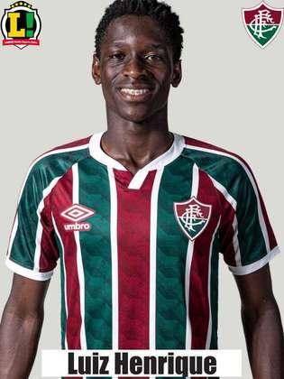 Luiz Henrique - 5,0 - Auxiliou o setor defensivo, mas desperdiçou uma chance de gol no primeiro tempo e falhou na troca de passes na área.