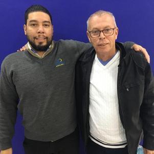 Luiz Henrique e Luiz Carlos Sens são donos de lojas da Sleep House