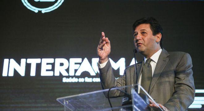 Luiz Henrique Mandetta defendeu transparência em preço de remédios