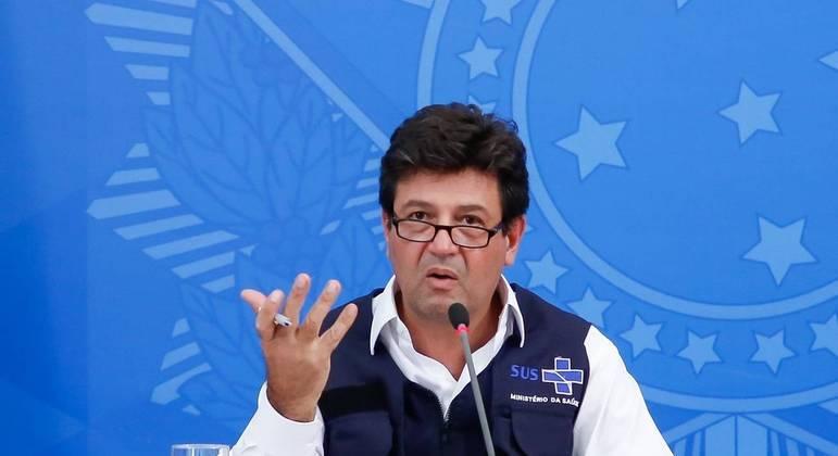 Henrique Mandetta: governistas devem explicitar condição de pré-candidato ao Planalto.