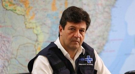 Na imagem, ex-ministro Luiz Henrique Mandetta
