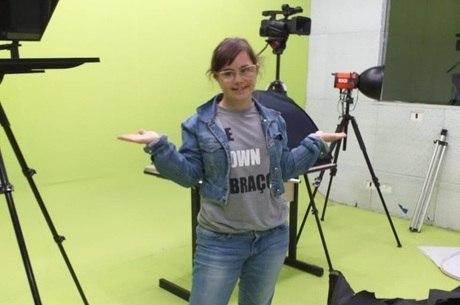Luiza Acosta quer trabalhar com cinema