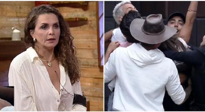 Luiza Ambiel foi a eliminada do programa de ontem