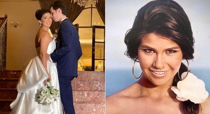 Luiza Rabello, hoje dentista, se casou com o empresário David Lira